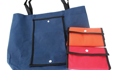 TFS2001 Foldable Shopping Bags with Plastic Button