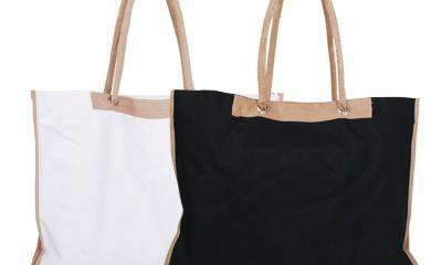 TMB016 Khaki Shopping Bags
