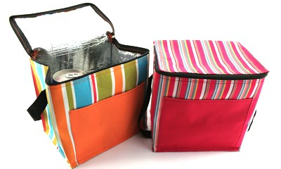 TMB2100 Striped Insulated Cooler Bag