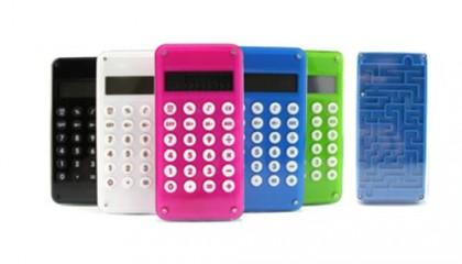 EWT1000 10 Digital Calculator With Maze Game