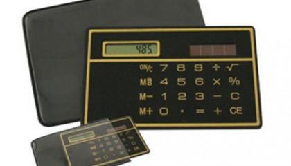 EWT1500 Super Slim Calculator with Pouch