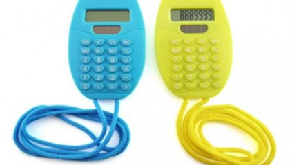 EWT1504 Calculator With Lanyard
