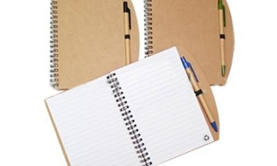 JNO1000 Eco-Friendly Notebook with Pen