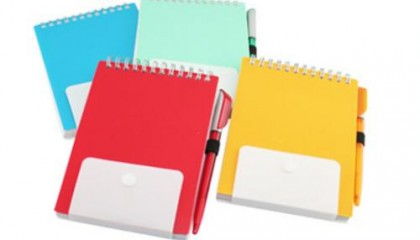 JNO1004 PP Notebook with Pen
