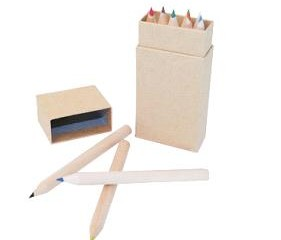 JPN1001 Eco-Friendly Colour Pencil Set (10pcs)