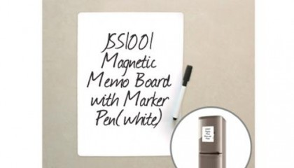 JSS1001 Magnetic Memo Board with Marker Pen