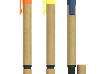 PPB1012 Recycled Paper Ball Pen & Highlighter
