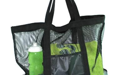 TMB1001 Custom Mesh Beach Bag