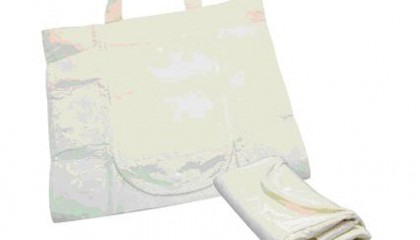 TMB1048 Bamboo Fibers Foldable Shopping Bag