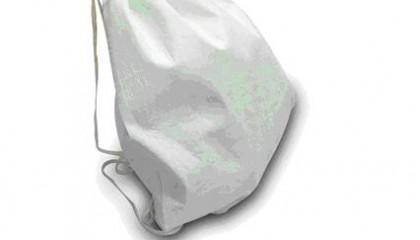 TMB1050 Bamboo Fibers Foldable Drawstring Bag