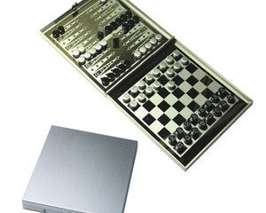 YGA1002 2 in 1 Aluminum Board Game