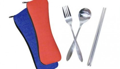 YKI1000 Cutlery Set in Pouch