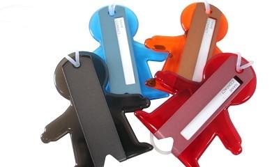 YLS009 Boyz Acrylic Luggage Tag