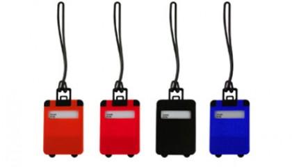 YLU1004 Frusted Luggage Tag