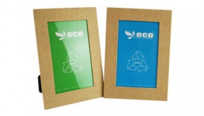 YPF1000 Eco-Friendly Photo Frame With Blue & Green Color Paper Insert