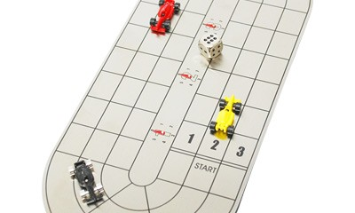 YSS4201 F1 Race Game With S.S Oval Board