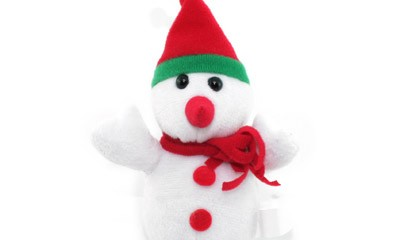 YTO1003 Snowman with Scarf