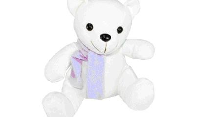 YTO1005 Polar Bear with Scarf
